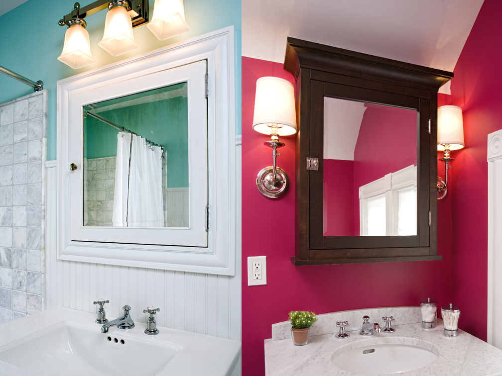 color bathrooms