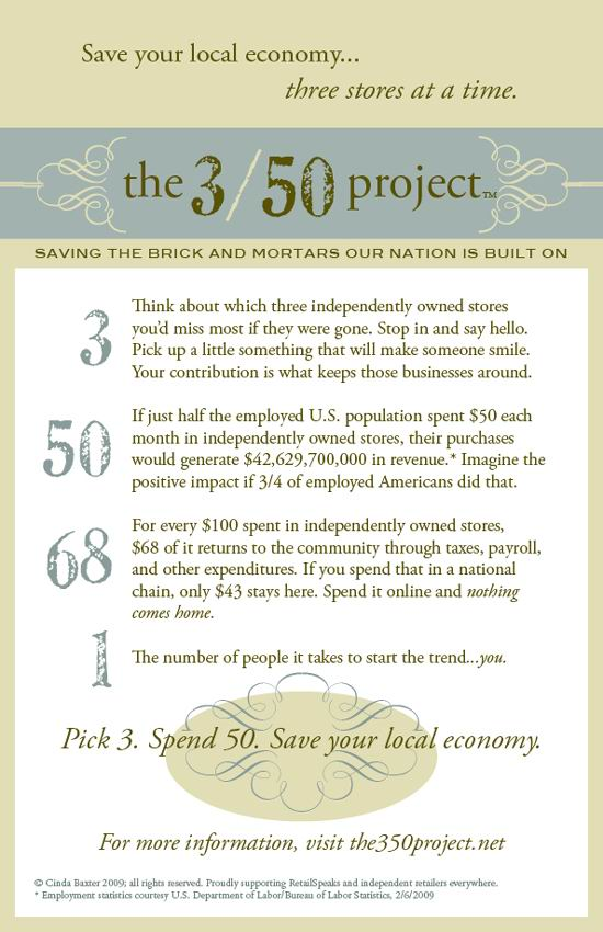Three Fifty Promo Card