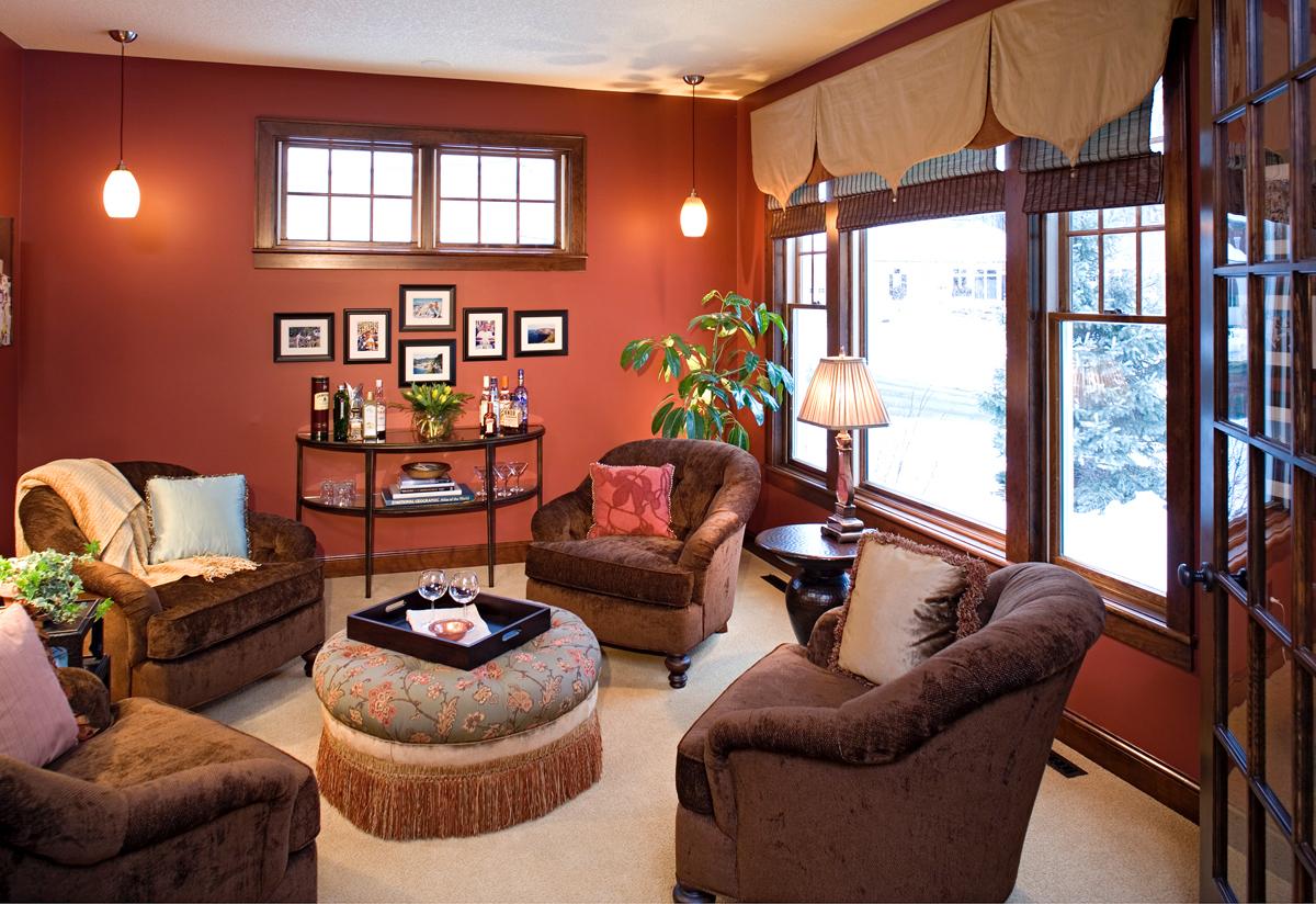 warm color scheme  a design blog