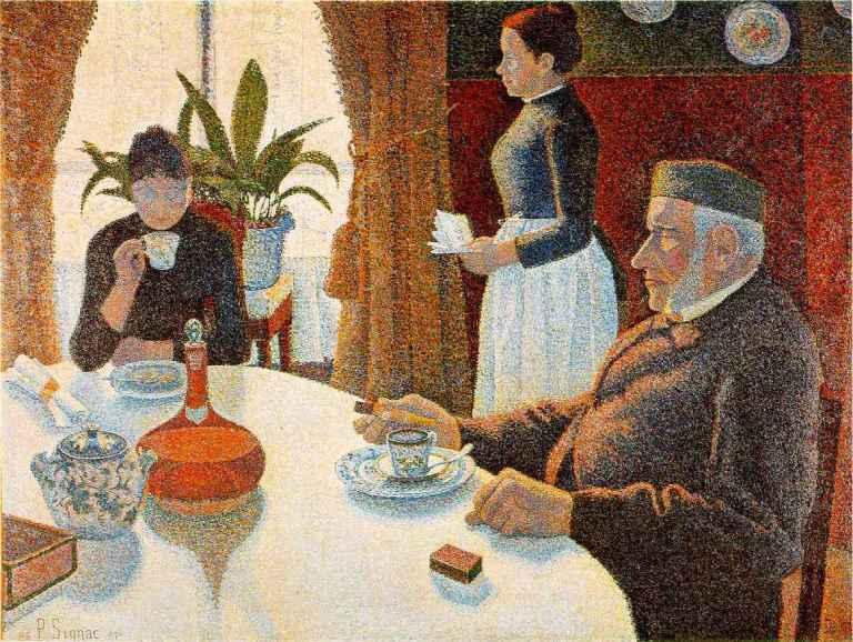 Paul Signac's Dining Room