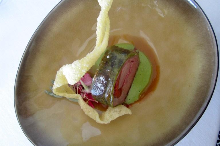 Lamb in nettle crust with chieves fondue – Giorgio Bartolucci, Eurossola (Domodossola) **