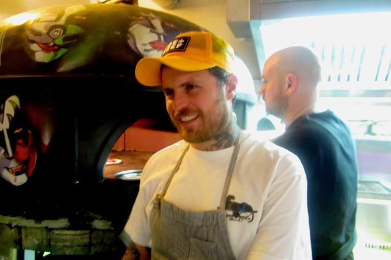 Lee Tiernan, the chef