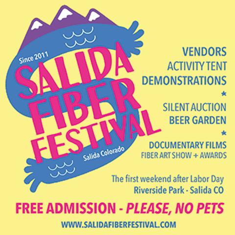 Salida Fiber Festival Flyer