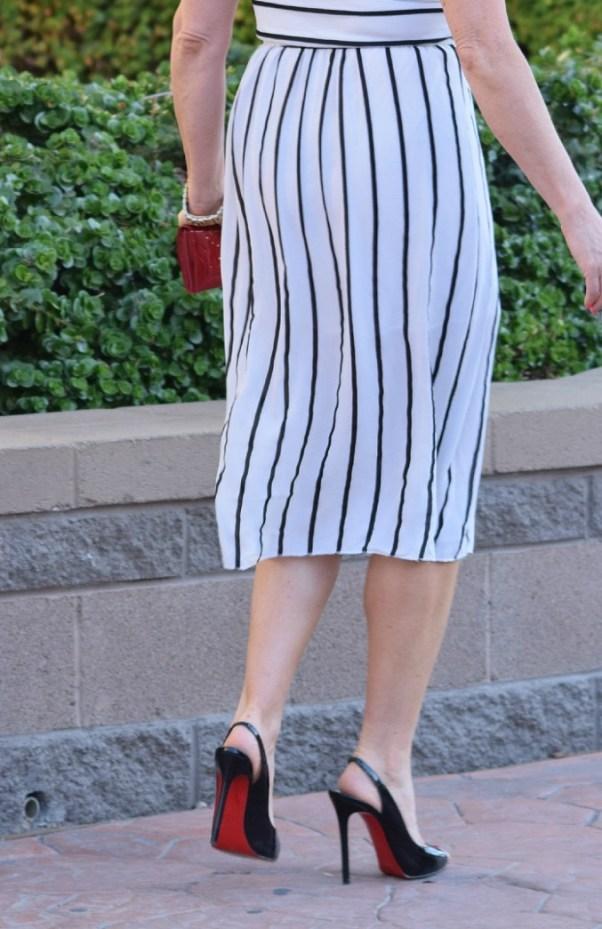 Striped Dress 052