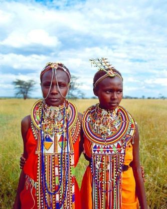 Maasai Tribal Girls