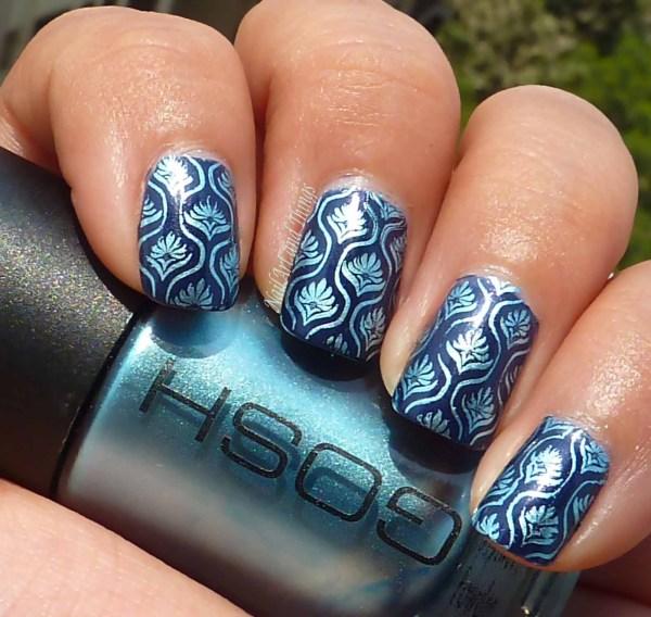 Stamping Nail Art Design Ideas