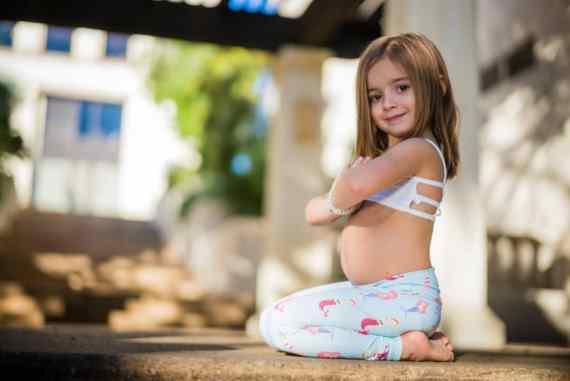 Mermaid Flexi Kids Tights