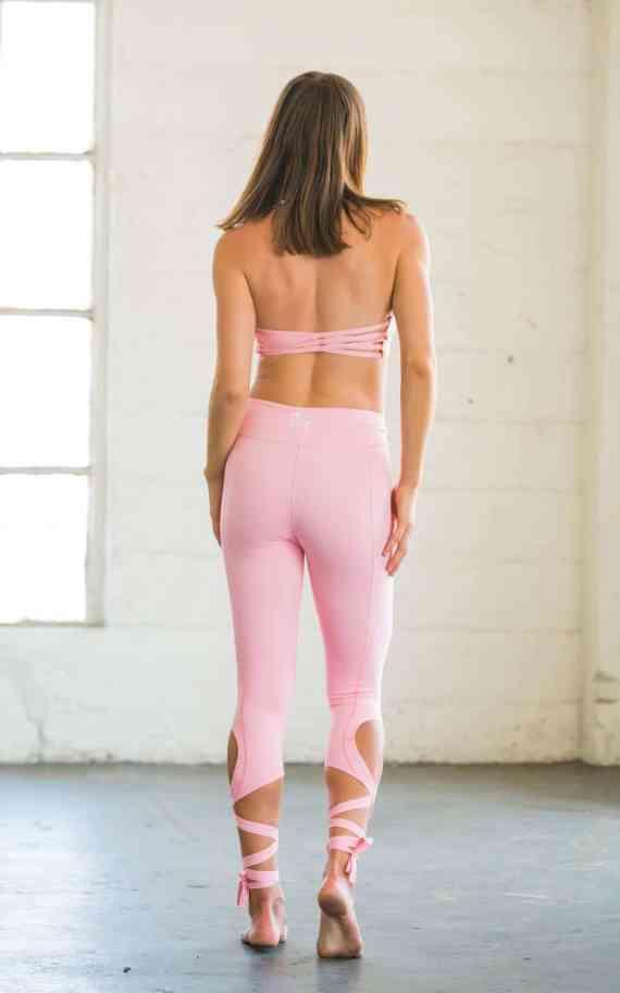Flexi Lexi Coral Pink Dancer Leggings
