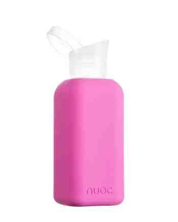 Hauteletics.no - Glass water bottle Purple