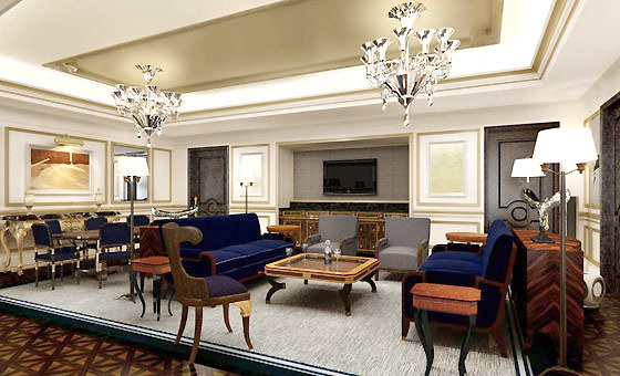 Top 5 Presidential Suites In Moscow Haute Living
