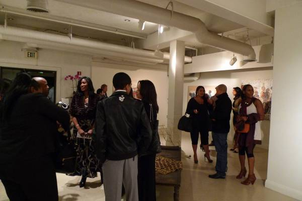Haute Event Ubuntu Charity Benefit With Meagan Good And
