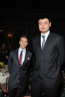 Girard-perregaux And Steve Nash Honor Nba Great Yao Ming