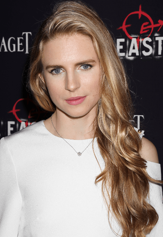 Brit Marling Sparkles in Piaget Rose Pendant at The East NY Premiere  Haute Living