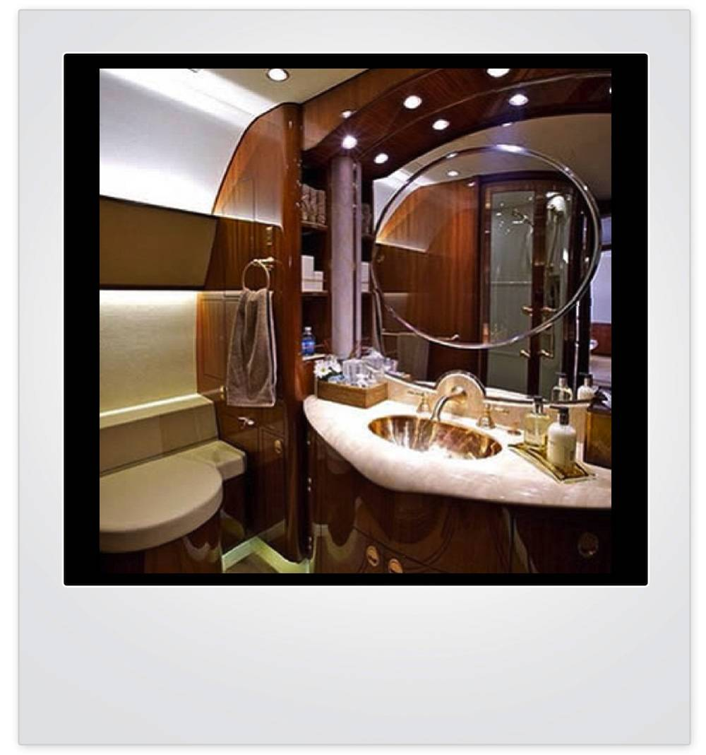 Haute Pic of the Day Private Jet Vanity  Haute Living