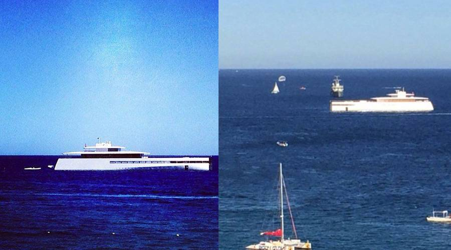 Haute Yacht of the Week Steve Jobs Venus in Portugal