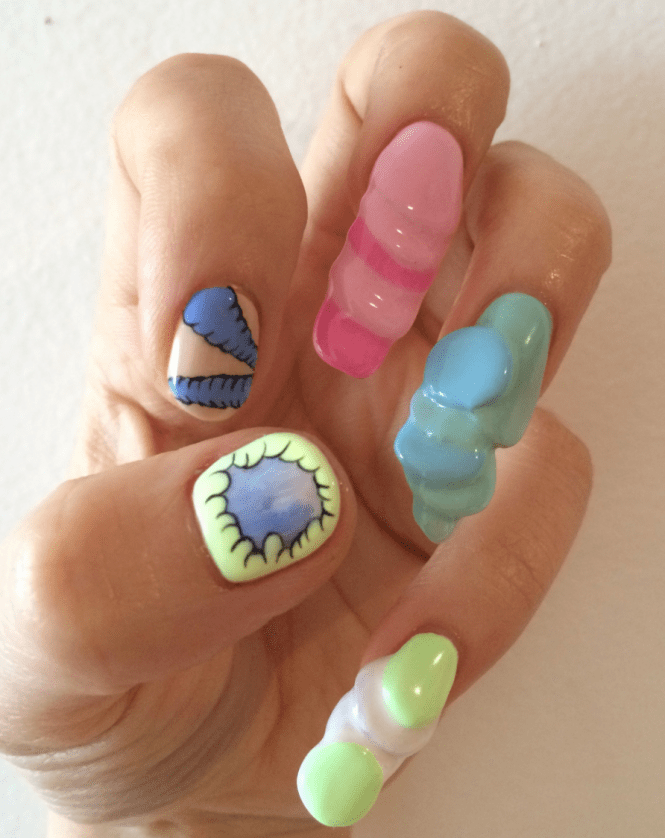 17 Best Images About Asian Nail Art On Anese Nyc