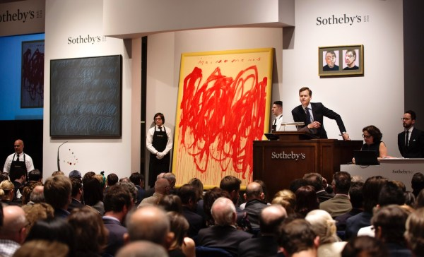 Of November Sotheby' And Phillips Art Auctions