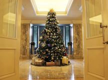 The Ritz-Carlton's Christmas tree