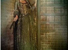 Gabrielle Anwar in costume