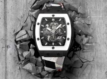 SPIRIT OF BIG BANG WEST COAST CERAMIC BLACK AND WHITE by HUSH