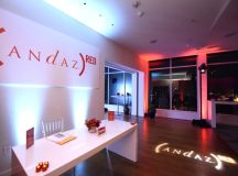 Interior of the Andaz Red Cabana