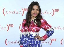Freida Pinto at (ANDAZ) RED cabanas unveiling at Andaz West Hollywood