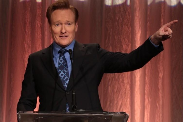 Amazing! Conan O'Brien Celebrates Children's Defense Fund Honorees