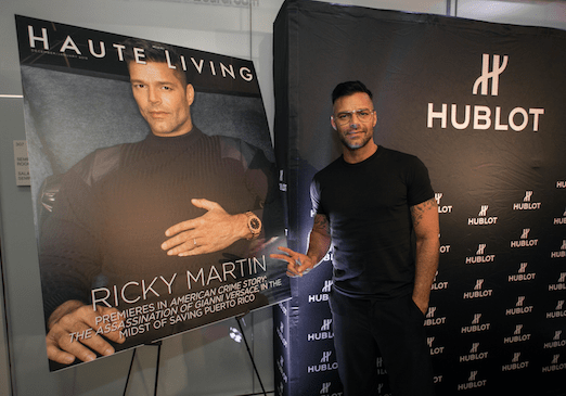 Fascinating! Haute Living's Private Hublot Loves Art Dinner Celebrating Ricky Martin At The PAMM For Art Basel Miami