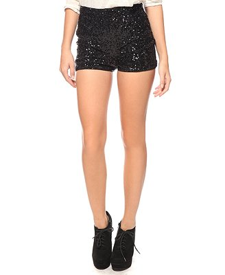 Forever21 High-Waisted Sequin Hot Pants $19.80