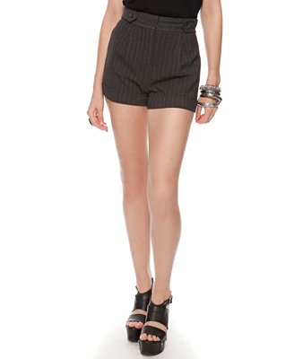 Forever21 Pinstripe Woven Shorts $17.80