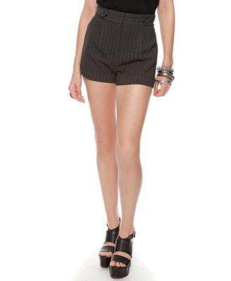 Forever21 Pinstripe Woven Shorts $17.80