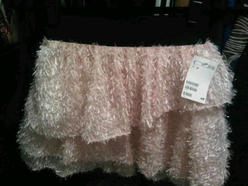 H&M Feather Tutu Skirt