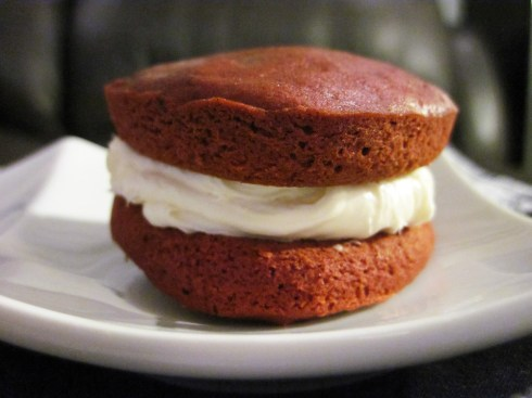 An Dyer's Red Velvet Whoopie Pie