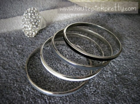 Banana An Bangles, Forever 21 Clear Dome Ring