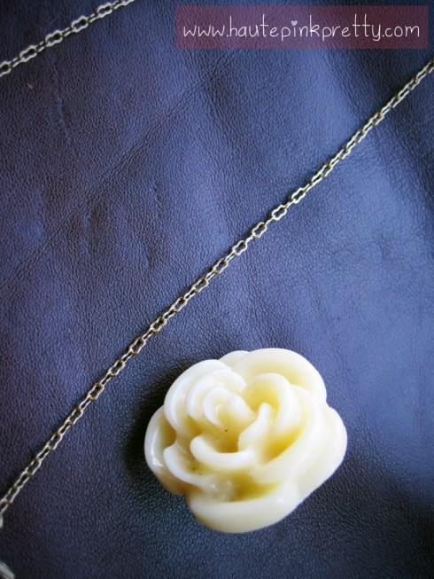 Forever 21 Gold Bird Necklace, Rose Ring, Jeffrey Lazaro Handmade Chocolate Leather Bag