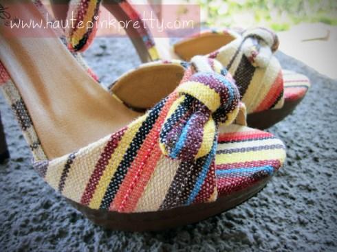 ShoeDazzle Nattie Platform Sandals