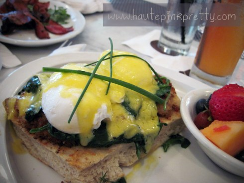 Alcove Cafe Crab Cake Benedict Brunch