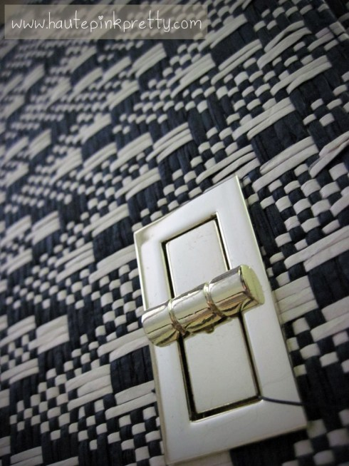 H&M Woven Clutch