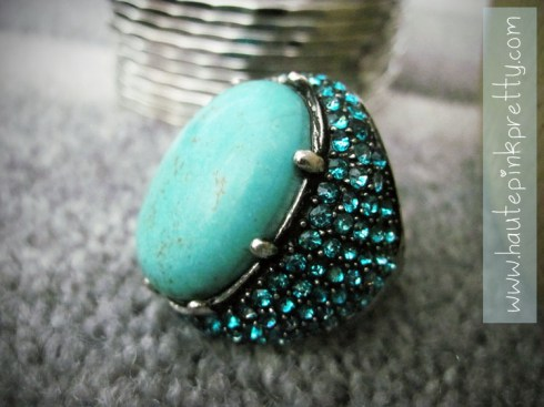 Banana An Turquoise Ring