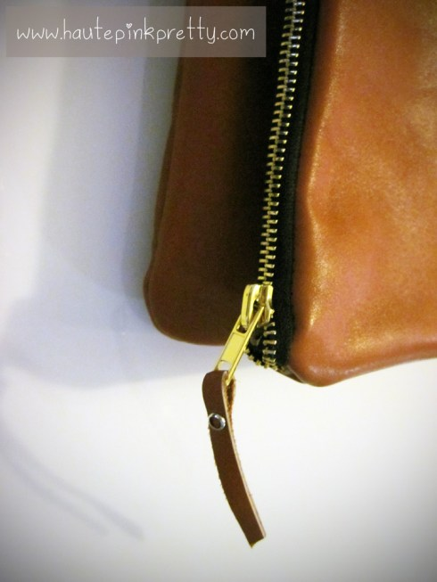 Jeffrey Lazaro Handmade Cognac Leather Bag