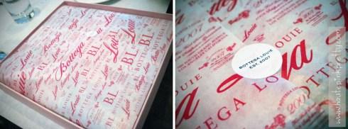 Bottega Louie Macaron Box Inside Tissue