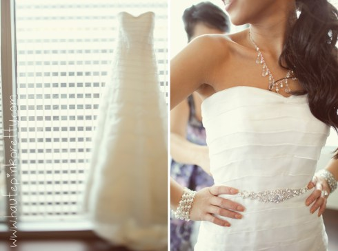 Dyer Wedding - Junko Yoshioka Anemone Dress & Accessories