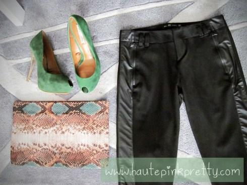 Zara Haul - Skinny Trousers, Snack Print Wash Bag, Peep Toes