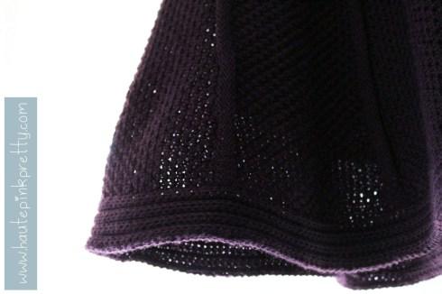 Forever 21 Aubergine Knitted Skirt