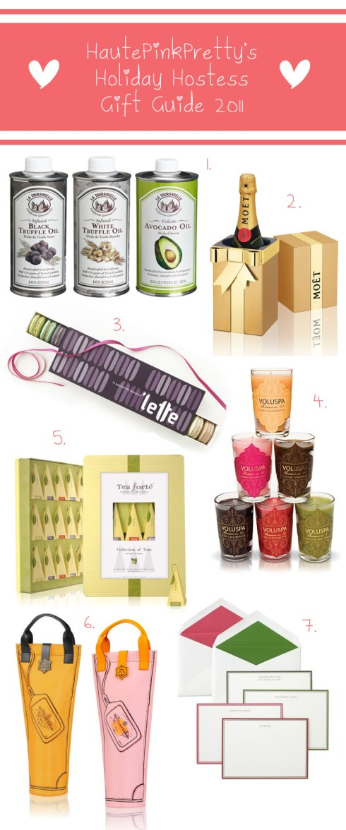 Holiday Hostess Gift Guide 2011 by HautePinkPretty