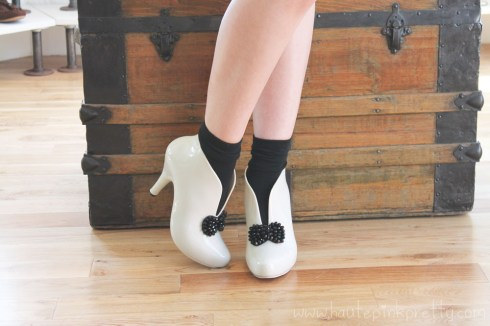 An Dyer wearing Moo Venice Shoes with Ankle Socks