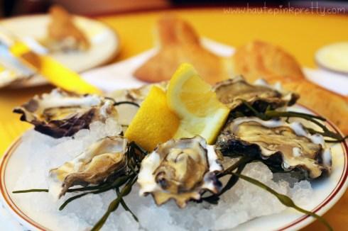Bouchon Bistro Beverly Hills brunch - Oysters