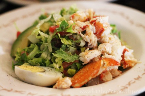The Farm of Beverly Hills Lobster Salad