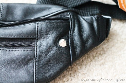 DIY Studded Fanny Pack by HautePinkPretty - Great job you've just added your first stud