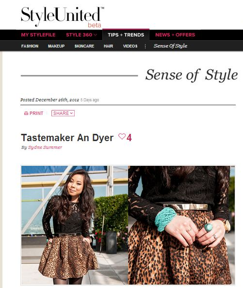 HautePinkPretty An Dyer featured on StyleUnited by P&G Beauty